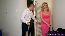 Awesome blonde MILF Cory Chase doing anal with ... Thumbnail