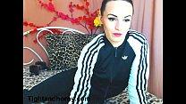 Sexy brunette masturbating on live cam - tightandhorny.com pornhub video