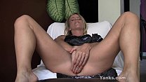 Blonde Skyla Toying Her Pussy And Ass thumbnail
