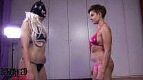 DF009-FOOT SMOTHER FIGHT: THE CHEATER NEWCOMER
