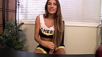Sexy Cheerleader With Huge Tits Does HOT JOI To Stay On The Team - August Ames's Thumb