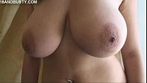 Shione Cooper undressing and show herself