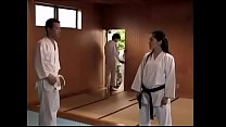 Japanese karate teacher rapped by studen twice video