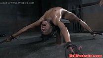 Skinny Ebony getting Punished Vorschaubild
