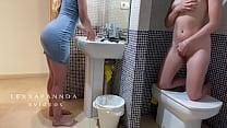 I'm Masturbating In The Bathroom And My Stepsis