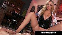 Busty Blonde Milf Julia Ann Pussy Face Fucks Her BoyToy! Image