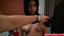 Chokeplay arab amateur doggystyle fuck Thumbnail