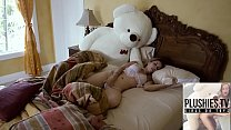 Teen Girl Tracy Fucked By Ritch Teddy Bear At The  Villa In A Jungle Of Bermuda