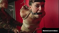 Newbie Nympho Kaera Cruz Is Bound & Flogged By ...'s Thumb