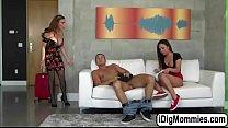Teen Amara shares her bf in threesome