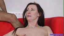 English milf pipe fitted by cheeky plummer Thumbnail