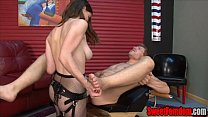 13160 Molly and Alex at Home PEGGING STRAPON FEMDOM BIG TITS preview