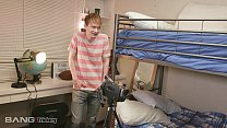 16141 Trickery - Ivy Lebelle fucks a college student in his dorm preview