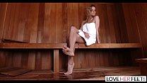 Loveherfeet - Jessa Rhodes Hot And Steamy Foot Sex