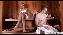LoveHerFeet - Jessa Rhodes Hot And Steamy Foot Sex thumbnail
