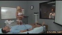 Hot nurse Riley Evans amazing fuck