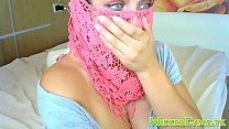 Beautiful Eyes Busty Muslim Camgirl