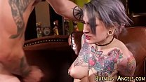 Goth babe gets fucked pornhub video