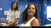 Stunning Euro Teen Gets Talked In To Giving A Blowjob For Cash 13