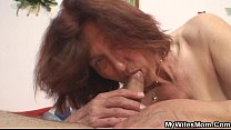 Lewd granny fucking her son in law Vorschaubild