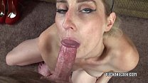 Blonde MILF Adriana Jones is going down on some...