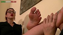 Ui055-Uncle Asso s Lesson 4- Foot Domination