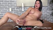 Wetandpuffy - Teen masturbation and dildo play for cute babe