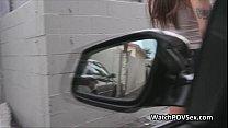 Fucking bigtit teen on backseat