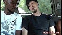 White Skinny Gay Boy Suck Big Black Dick 01