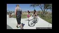 Tiny Asian Teens Share Big Cock! » ifeelmyself hd thumbnail