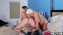 Hot 3some action with busty MILF Alura Vorschaubild