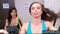 (aidra & reena) Lesbians In Punishing Sex Game Using Toys clip-07