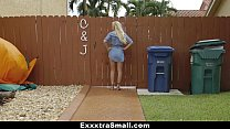 13874 ExxxtraSmall - Cute Blonde Caught Spying preview