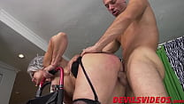 9573 Big ass granny gets dicked from behind by a young pervert preview