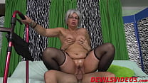 8325 Big ass granny gets dicked from behind by a young pervert preview