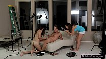 Image: Nubiles Casting - Tiny latina hottie does her first hardcore audition