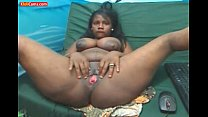 Blackgirl Milking Her Tits in Cam thumbnail