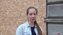 GERMAN SCOUT - CUTE TEEN KINUSKI TALK TO REAL LEG SHAKING ORGASM CASTING Vorschaubild