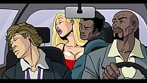 Interracial Cartoon Video porn thumbnail