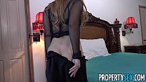 PropertySex - Real estate agent busted playing with herself's Thumb