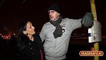 German Milfs in public in snowy Berlin - 9Club.Top