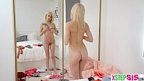 Tiny stepsister teen and her horny stepbro conf...