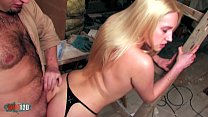 Fucking a beautifull blonde with tight pussy an...