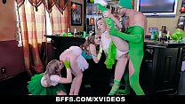 BFFS - Three Hot Besties Enjoying One Hard Cock... Thumbnail