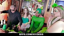 BFFS - Three Hot Besties Enjoying One Hard Cock In An Irish Bar [코스프레 코스플레이 cosplay]
