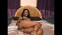 Black whore Beauty Dior got her pussy slammed and then horny man has chucked his muck's Thumb