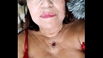 Abuela Peluda Masilla Masturbándose