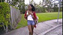 Ebony Big Ass Teen Haylee Wynters Gets Interracial Fucked