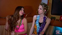 GIRLS GONE WILD - Young Best Friends Having The Time Of Their Lives At Mardi Gras - 69VClub.Com