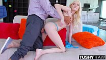 TUSHYRAW Teen Loves Having Her Tight Asshole Stretched صورة